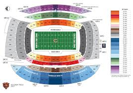 Chicago Bears Seating Chart Need To Sell My 2 Bears Season Tickets 442 Row 30 Chibears