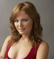 Blonde haired nude actress