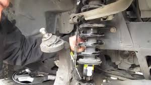 Replacing Struts and coils on a TrailBlazer Part: 1 - YouTube