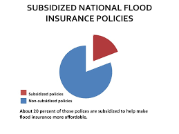 to keep costs to policyholders low and encourage widespread partition the national flood insurance program offers several types of subsidized policies