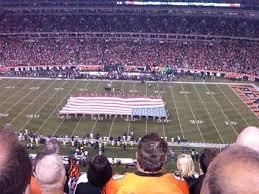 Paul Brown Stadium Section 339 Home Of Cincinnati Bengals