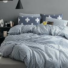 blue striped duvet cover ikea blue and white striped king size duvet cover bedding sets patterned