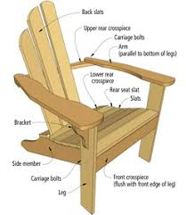 adirondack chair plans. Perfect Plans Norm Abramu0027s Adirondack Chair Plans To E