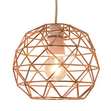 bertie geometric easy fit pendant light