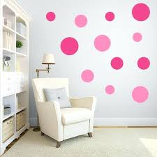 multi size pink polka dot wall decal pack gold polka dot wall decals australia pink polka
