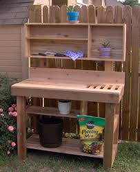 Potting Benches Ultimate Potting Bench With Shelf