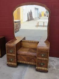 art deco furniture restoration. american vanity dresser art deco waterfall bedroom furniture restoration l