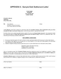 settlement letter debt collection resume cv templates for sample debt validation letter