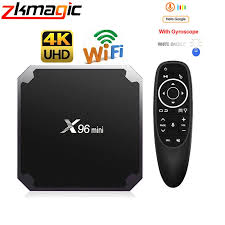 Android TV BOX X96 mini Android 9.0 Smart TV Box 2GB 16GB Amlogic S905W  Quad Core 2.4GHz WIFI 4K Media Player Smart Set Top Box|Set-top Boxes