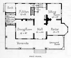 Victorian Style House Floor Plans Queen Anne Style House  original    Victorian Style House Floor Plans Queen Anne Style House