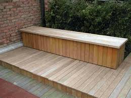 storage bench plans large size of storage benches with bench plans and back outdoor deck pallet storage bench plans