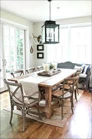 rectangle dining room chandelier modern