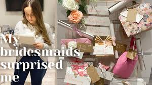 The best tea and coffee advent calendars. My Bridesmaids Surprised Me Wedding Advent Calendar Emotinal Youtube