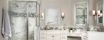 bathrooms remodeling. White Bathroom With Stand-up Shower Bathrooms Remodeling O