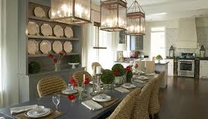 Country dining room ideas Farmhouse Dining Dining Room Kohler Dining Room Low Country Vacation Cottage Idea Homes Bathroom