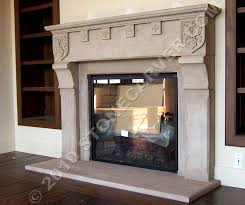 the fireplace surrounds and stone hearths by walter s arnold studio chicago made