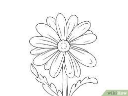 9 ways to draw a flower wikihow