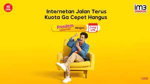 Im3 ooredoo menawarkan 1 paket internet 3 bulan & 57 paket internet sebulan dengan bonus kuota yang beragam. Freedom Internet