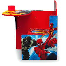 large size of spiderman chair desk delta children spider man with storage bin