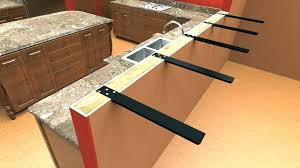 granite countertop support legs granite countertop support brackets home depot flat metal supports granite countertop support