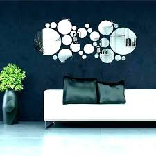 wall mirror stickers wall mirrors mirror stickers expensive circle acrylic vinyl decal clock wall mirrors