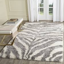 safavieh portofino collection pts215a ivory and grey area rug 8 x 10