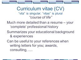 Developing And Enhancing Your Cv Uk Preparing Future Faculty Program