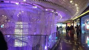 cosmopolitan chandelier bar also at
