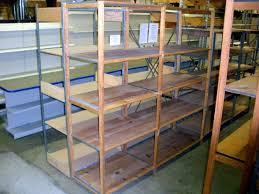used lundia stockroom shelving