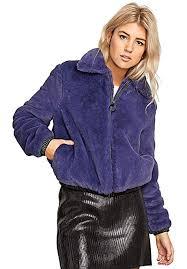 Volcom Womens Fuzzy Fresh Jacket Sea Navy Xx Large Amazon