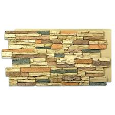 faux stone panels menards faux stone wall panels as we can see some also called fake