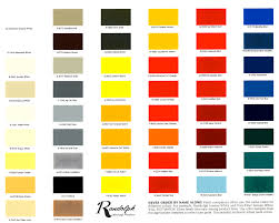 color chart randolph color chart