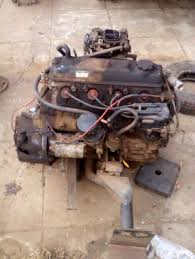 Toyota 3Y 2.0L engine with clutch and radiator | Junk Mail