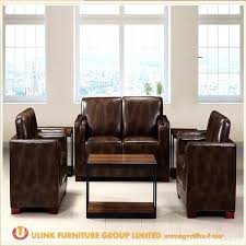 modern office sofa. Modern Office Furniture Leather Sofa Sets China Mid