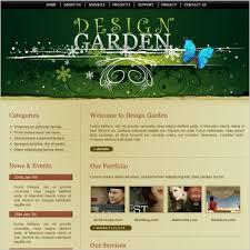 Design Garden Template Free Website Templates In Css Js Simple Garden Web Design Design