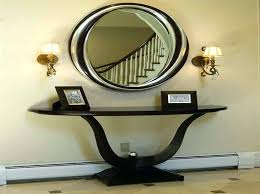 contemporary entryway table. Contemporary Entryway Bench Foyer Furniture Narrow Hallway Storage And Table Mirror Modern