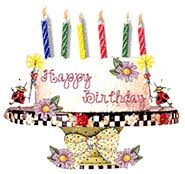 Free Birthday Gifs Animated Birthday Clipart Graphics