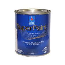 Краска <b>SuperPaint Interior</b> Latex <b>Paint</b> - <b>Sherwin</b>-<b>Williams</b> 0,95 литра