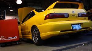 Integra typer - dyno - Turbo - 750 hp high boost - Lab246 - YouTube