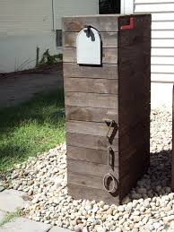 wooden mailbox designs. Image Of: Custom Contemporary Mailboxes Wooden Mailbox Designs
