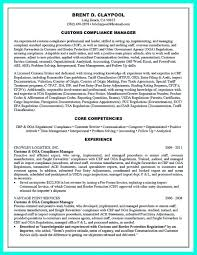 Nice Best Compliance Officer Resume To Get Manager S Attention