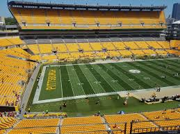 Steelers Seating Chart With Rows Heinz Field Section 531 Rateyourseats Com
