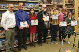 barnes noble celebrates local winners of my favorite teacher all together now the top three winners from the barnes and noble my favorite teacher