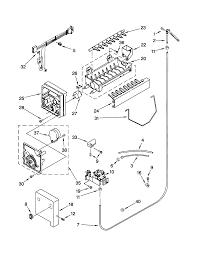 Kenmore elite side by side refrigerator parts model 10650503990 rh searspartsdirect