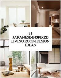 31 serene japanese living room décor
