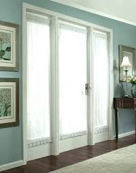window covering front door french privacy treatments glass opaque