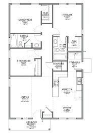Beautiful 3 Bedroom Small House Design Lofty Inspiration Single Floor Home Plans