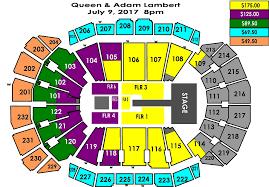 Queen Adam Lambert Sprint Center