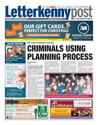 Letterkenny Post 30 11 17 By River Media Newspapers Issuu