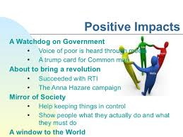 impact of media on n society 4 positive impacts